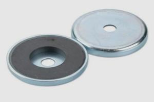 Ferrite Shallow Pot Magnets