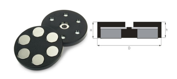 disc-rubber-coated-holding-magnets