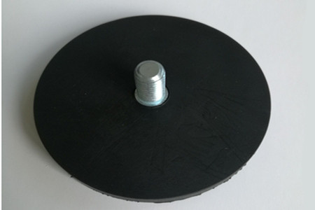 External Thread Rubber Coated Pot Magnets