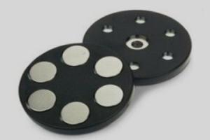 Flat Rubber Coated Holding Magnets