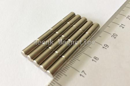 D4x10mm axial cylinder magnets