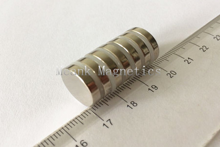 D15x3mm rare earth disc magnets