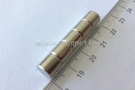 D8x8mm neodymium magnetic rods