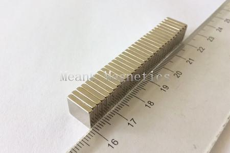 10x10x2mm neodymium square magnets