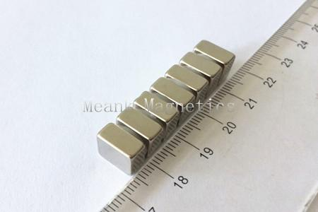 10x10x5mm square neo magnets