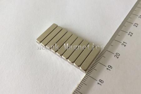 18x3x4mm neodymium bar magnets