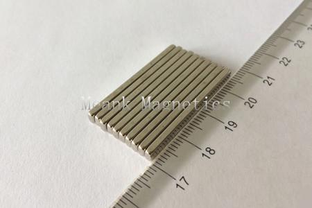 35x4x2mm neodymium magnet bars