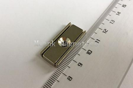 30x13.5x5mm neodymium channel magnets