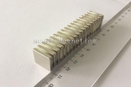17x17x3mm neodymium rectangle magnets