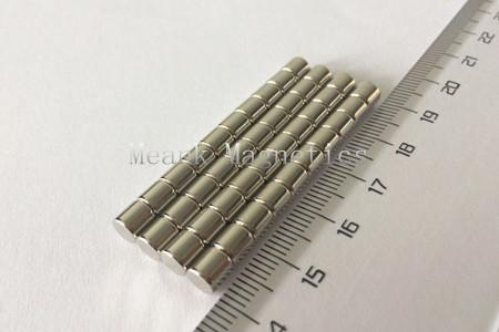 D5x5mm neodymium rod magnets