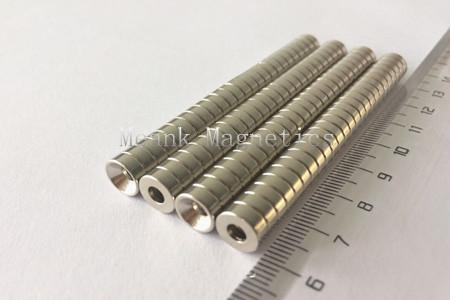 D8xd3.5/6x3mm neodymium countersunk magnets