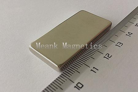 40x20x5mm strong magnetic blocks