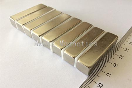 40x10x10mm  rare earth bar magnets