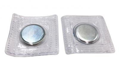 PVC magnetic button can completely replace the traditional button to be used for fashion clothes