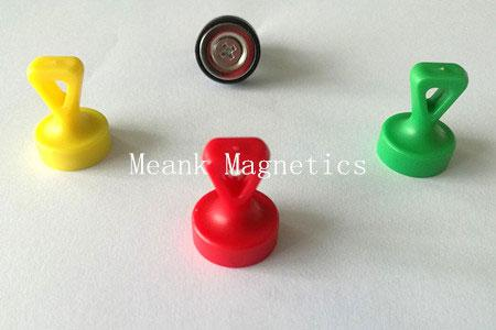 Neodymium Grip Magnets with Loop, Neodymium Skittle Magnets with Loop