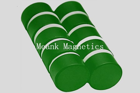 plastic coated rare earth magnets