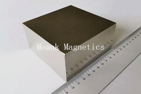 super large and strong neodymium block magnet