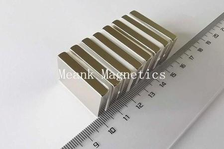rare earth neodymium rectangular magnets