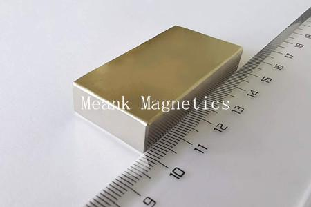 big rectangle rare earth neodymium magnets