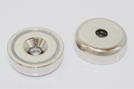 Countersunk Neodymium Pot Magnets